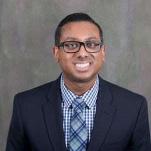 Sunil Joy, research data analyst for Kent ISD