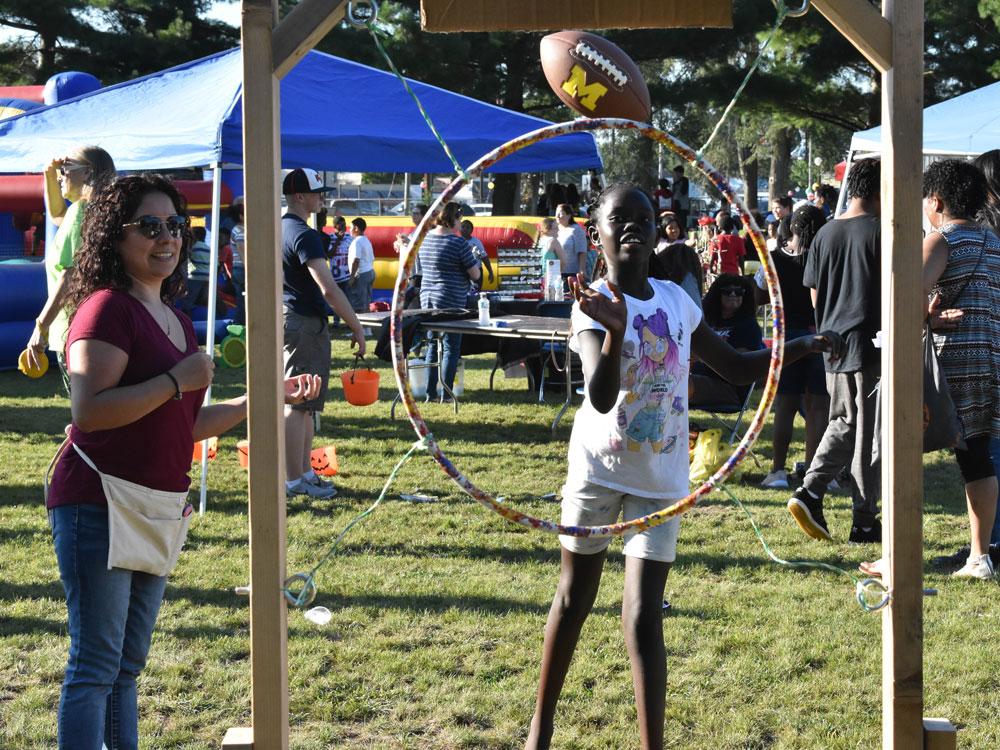 Community Celebration draws a big crowd - School News