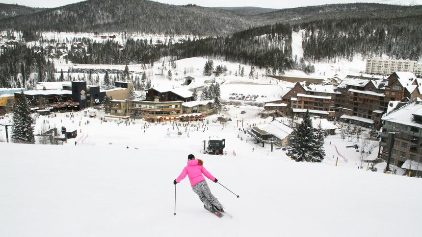 Winter Park Resort terrain