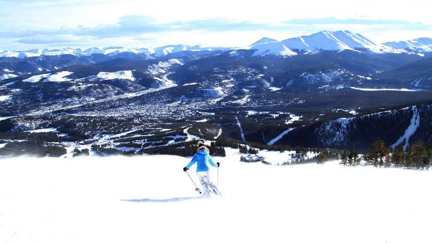 Breckenridge terrain status for beginners
