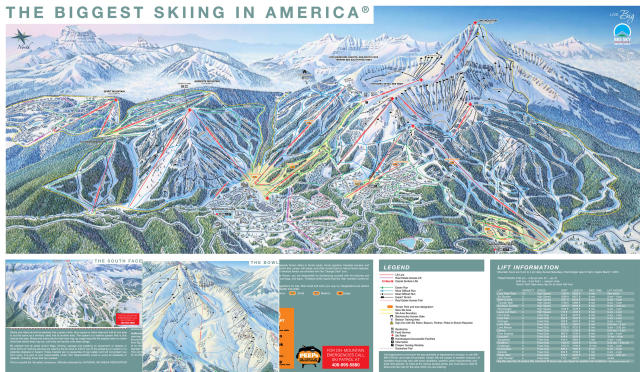 Big Sky Ski Resort  Ski Packages And Vacations  Snowpak