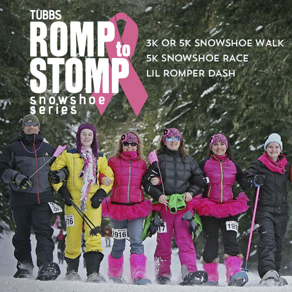 Tubbs Romp to Stomp out breast cancer