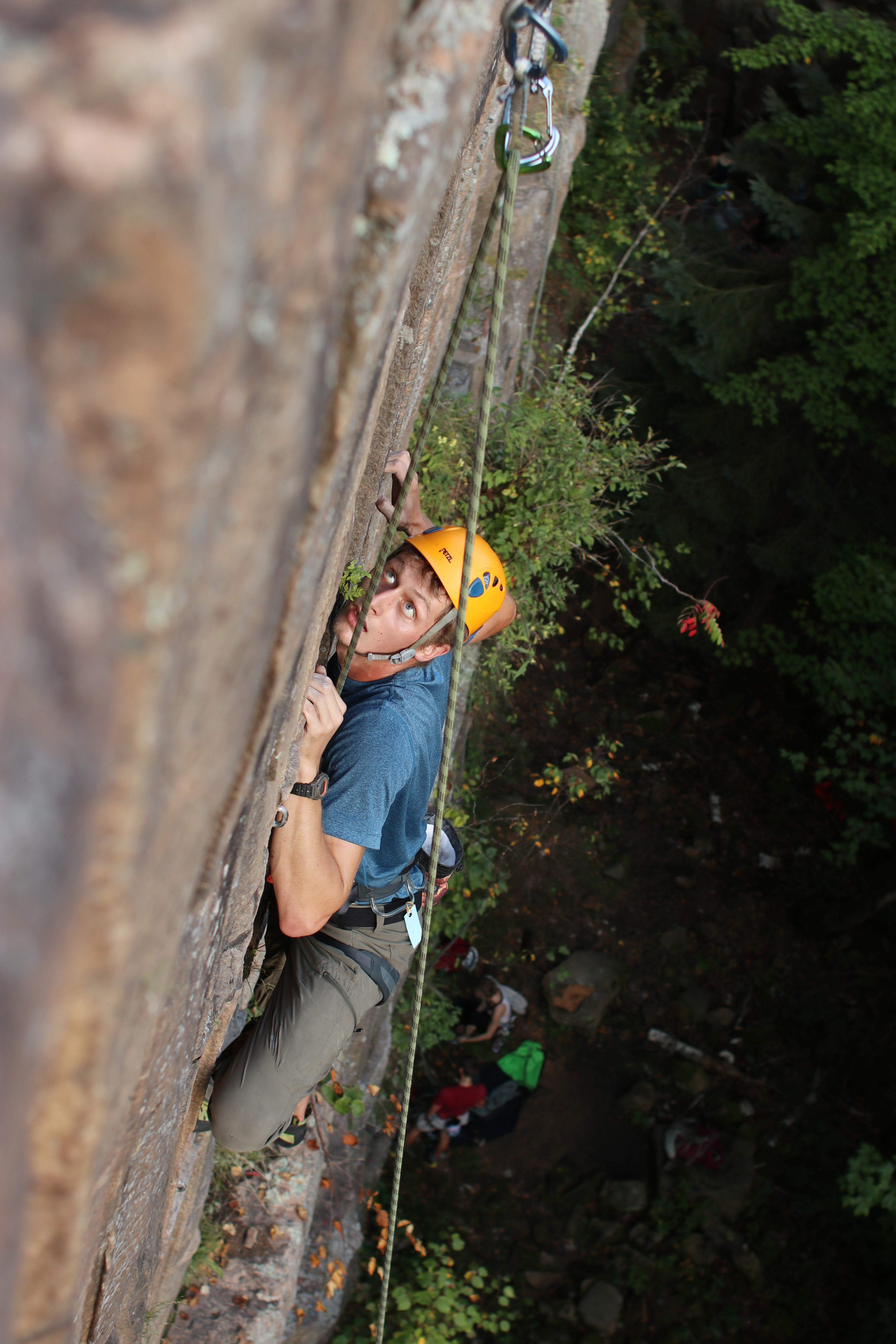 Scending Sota Rock Climbing S Rise In The Land Of 10 000 Lakes The Minnesota Daily