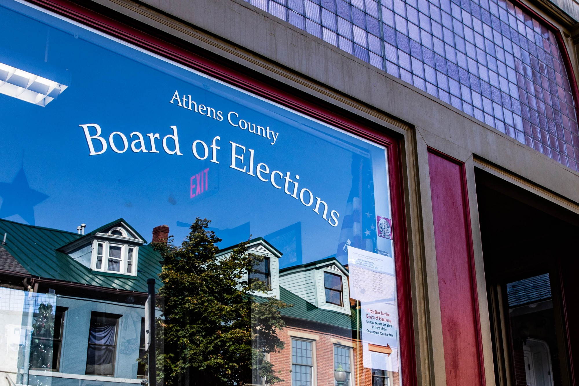 The Athens County Board of Elections, located at 15 S.Court St., in Athens, Ohio. (FILE)