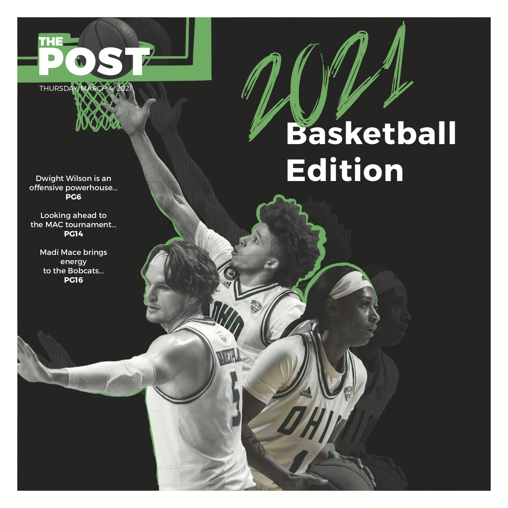 Basketball Landing Page Cover Image
