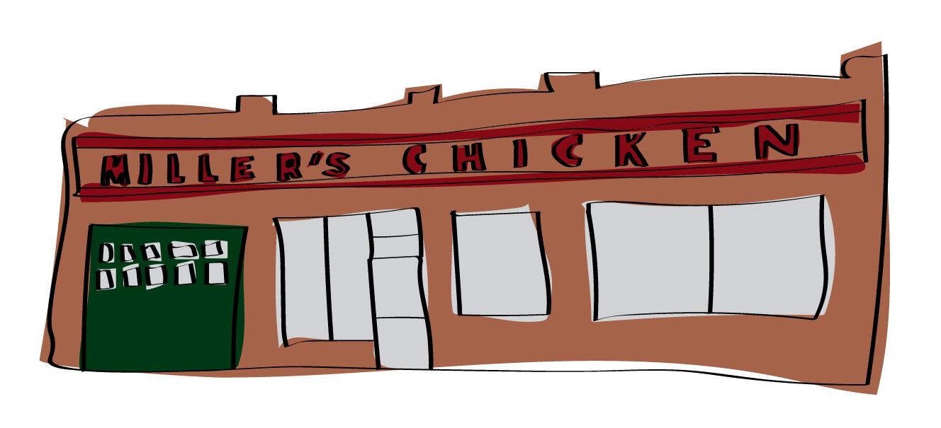 Miller's Chicken, 235 W. State St.