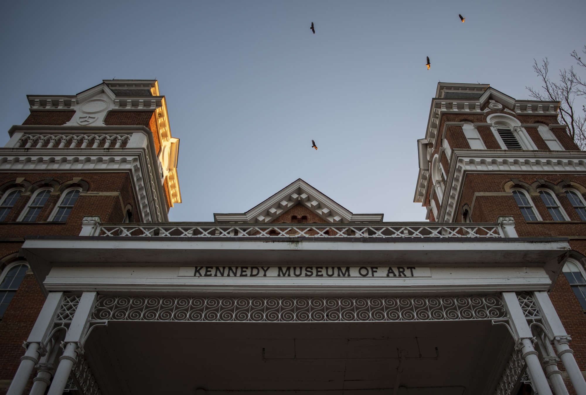 Kennedy Museum of Art at 100 Ridges Circle, Athens, Ohio. (FILE)