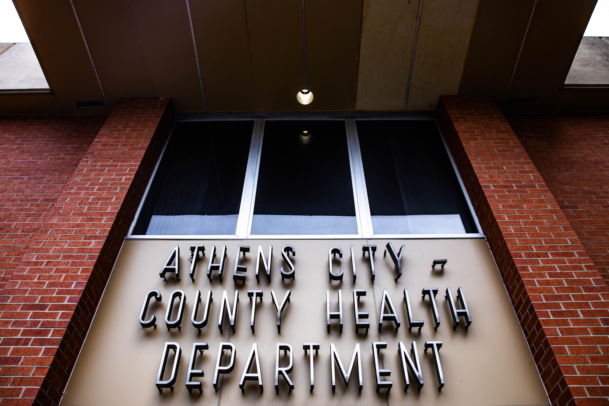 The Athens City-County Health Department on West Union St. (Nate Swanson   Photo Editor)r