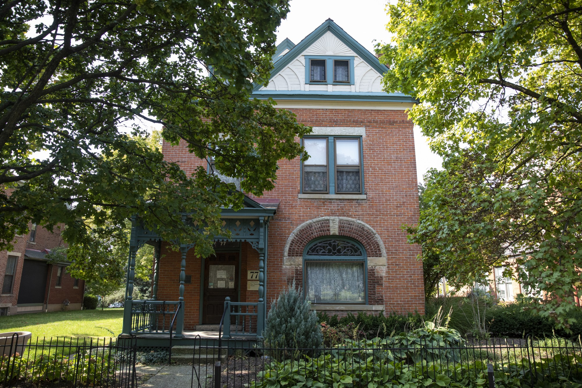 The Thurber House in Columbus, Ohio.