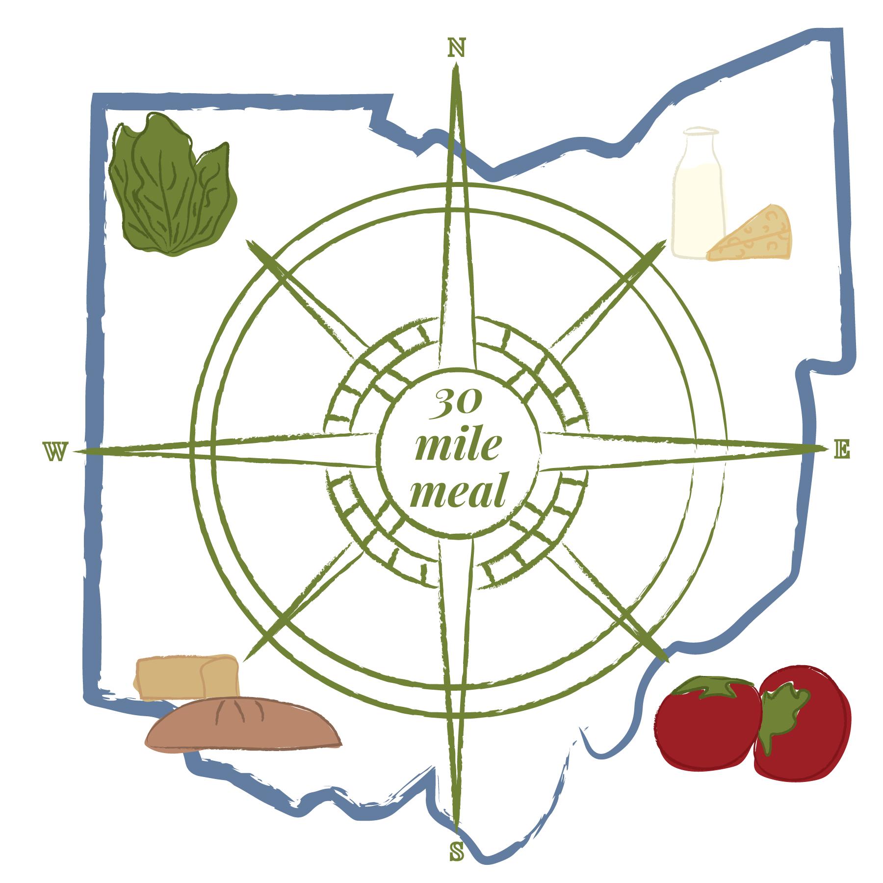 30 mile meal ohio illustration
