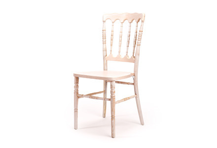 Marie Whitewashed Dining Chair