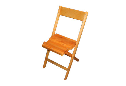 Beechwood Folding Chair