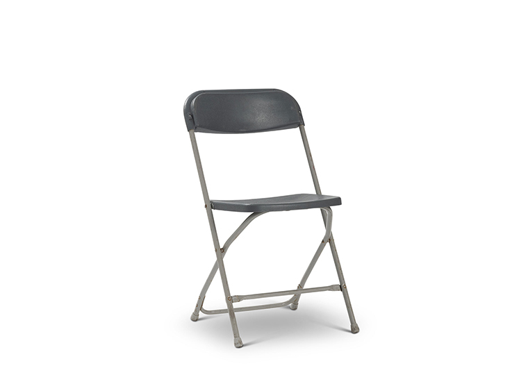 Grey Outdoor Folding Chair