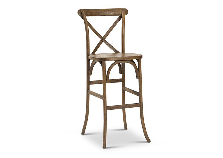X-Back Farm Stool