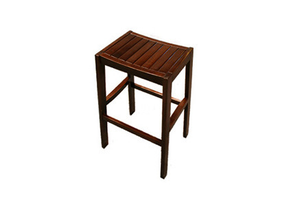 Mahogany Signature Stool