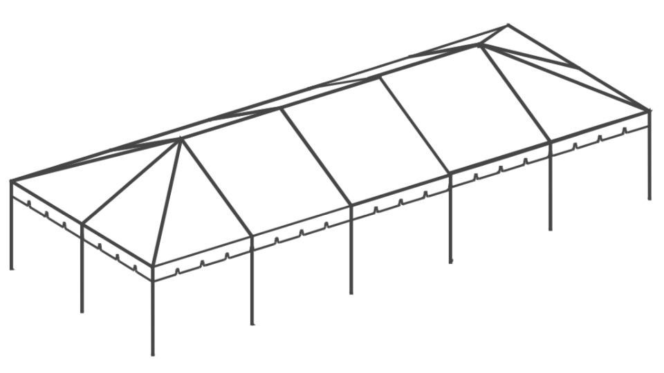 20 x 50 Frame Tent