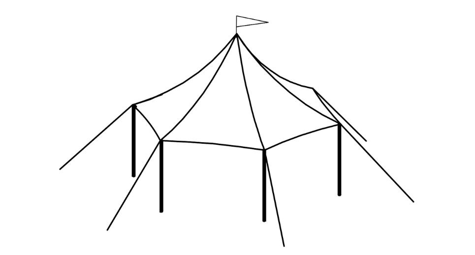 17 x 21 Sailcloth Tent