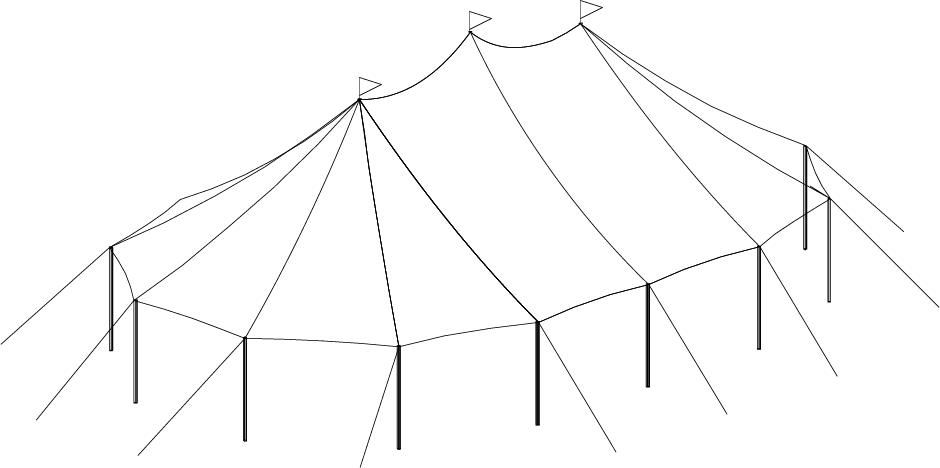 32 x 50 Sailcloth Tent