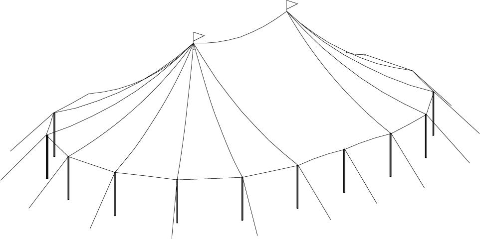 44 x 63 Sailcloth Tent