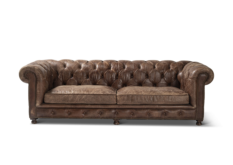 Couch Leather Lounge 2280 1620