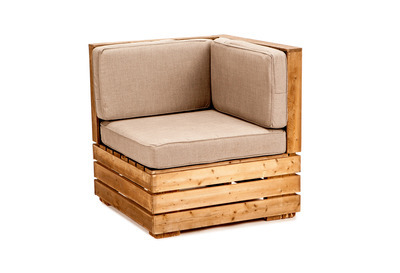 Crate Corner Chair