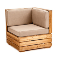 Furniture Crate Sectional Corner Lg Small