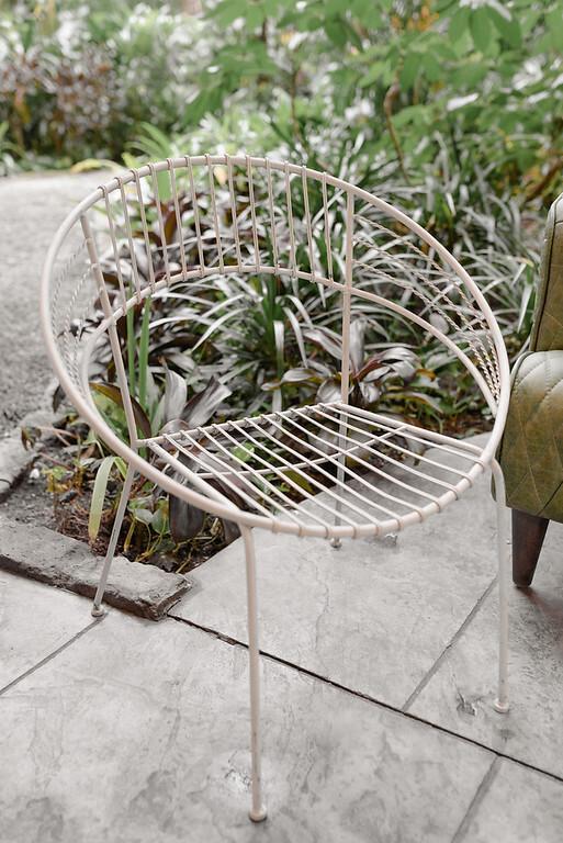 Metal Hoop Chair