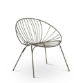 Wire Chair Round Lounge 2280 1620