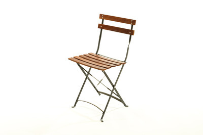 Eros Wood Steel Folding Chair