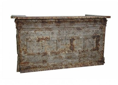 Vintage Ceiling Tile Bar