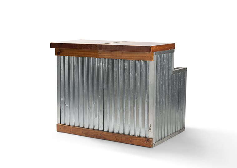 Galvanized Maude Bar