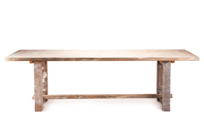 Driftwood Dining Farm Table