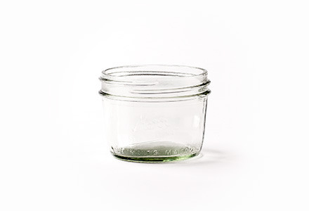 Wide Mouth Mason Jar