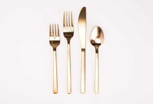 Gold Flatware Lg Medium