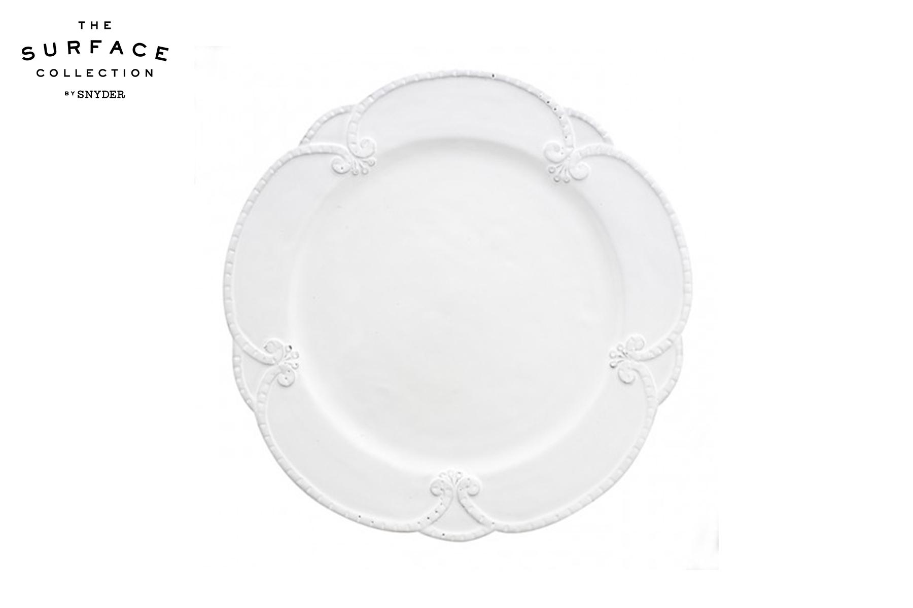 Tuscan Stoneware Rosette Dinner