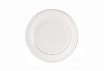Silver Rim Bread & Butter Plate