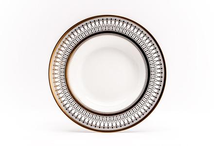 Gabrielle Gold Soup Plate