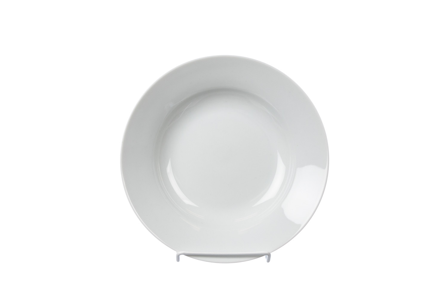 Solid White Soup Plate