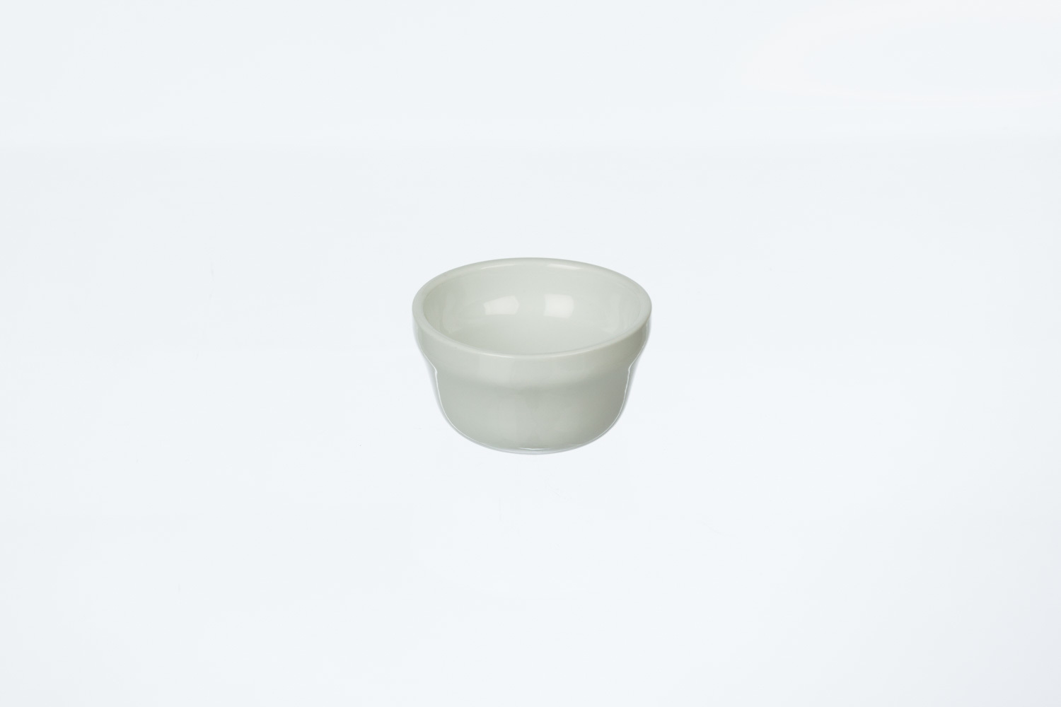 Solid White Bouillon Cup
