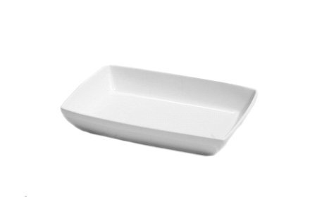 "Solid White 11"" Bakers Dish"
