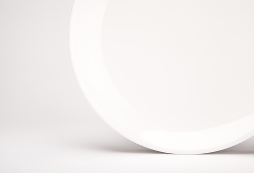 White Plate Detail Lg Medium