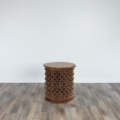 Carved Wood Side Table Web2 Small