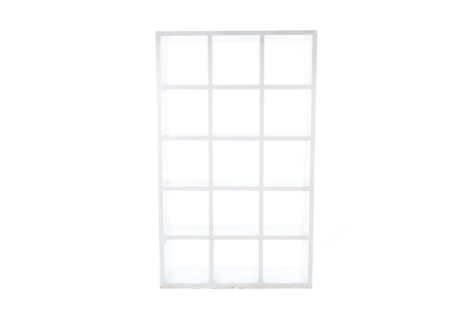 White Beijing Bookcase