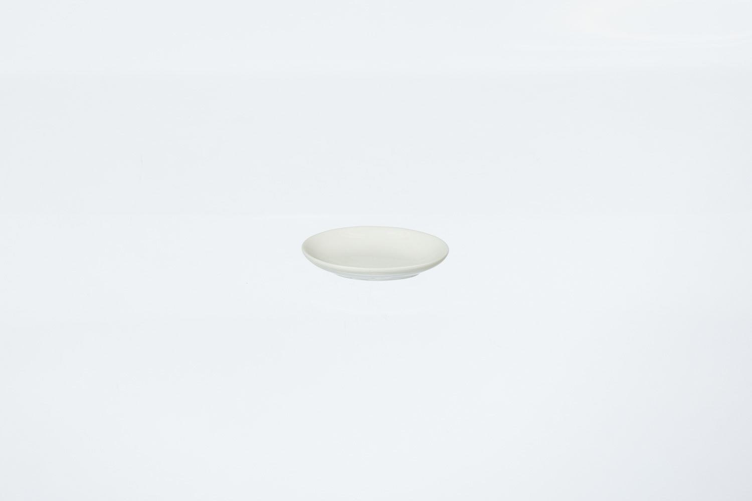Solid White Oval Tapas Plate