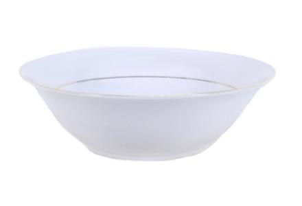 Gold Rim Serving Bowl