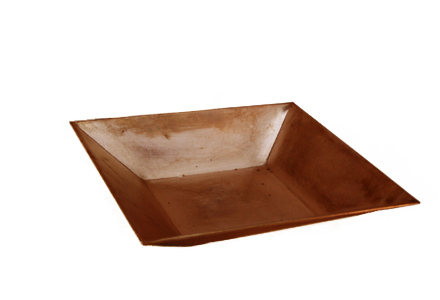 Square Copper Platter No.8