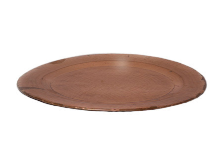 Round Copper Platter No.12