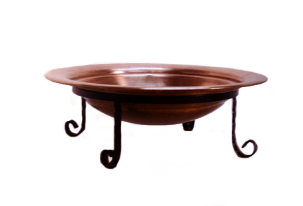 Round Copper Chafing Dish No.14
