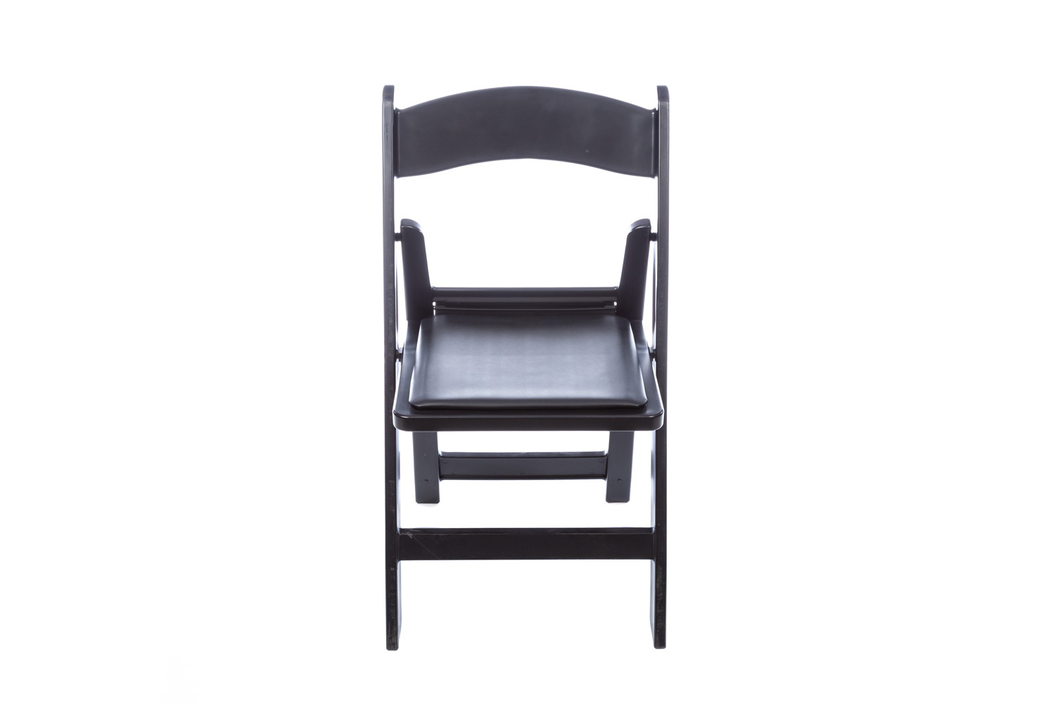 Black Structure Folding Chair