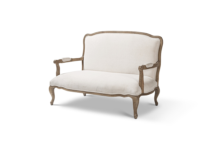 Couch Loveseat White Lounge 2280 1620